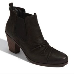 Paul Green | Jano Black Leather Chelsea Booties 7